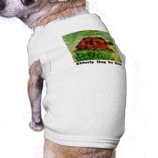 Tortoise Animal Art for older dogs Tee