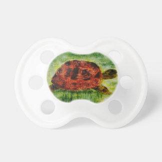 Tortoise Animal Art Pacifier