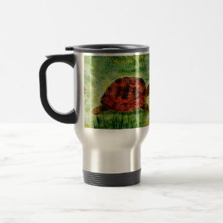 Tortoise Animal Art Travel Mug