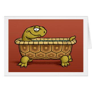 Tortoise Bath Card