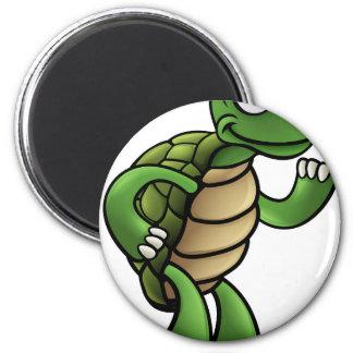 Tortoise Cartoon Character Magnet