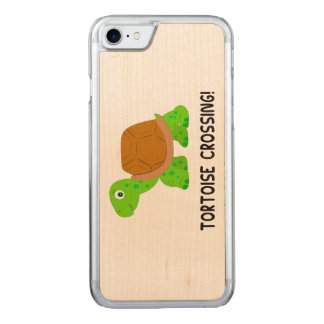 Tortoise Crossing Carved iPhone 8/7 Case