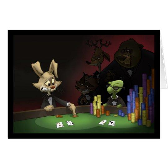 Tortoise & Hare Card (Blank Inside)