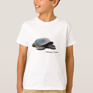 Tortoise image for Kids'-T-Shirt-White T-Shirt