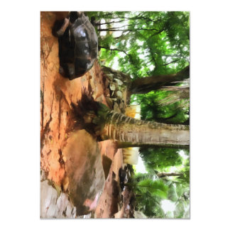 Tortoise in its own setting card