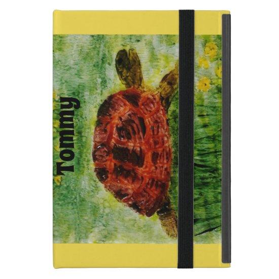 Tortoise Painting or Custom Pet Photograph Case For iPad Mini