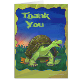 Tortoise Party Center Card