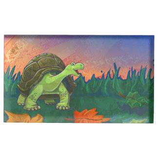 Tortoise Party Center Place Card Holder