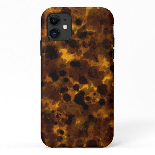 Tortoise print iPhone 11 case