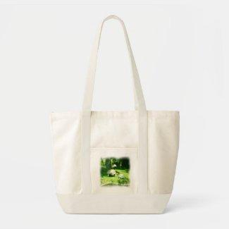 Tortoise Race Canvas Bag