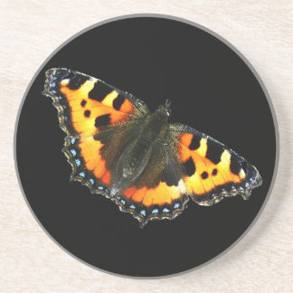 Tortoise shell butterfly coaster