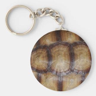 Tortoise Shell Close Up Key Chain
