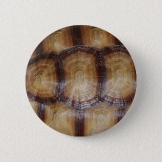 Tortoise Shell Close Up Pinback Button