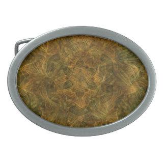 Tortoise Shell Pattern Belt Buckles