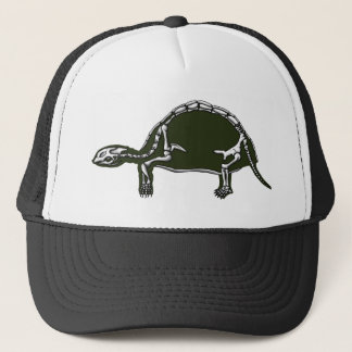tortoise skeleton trucker hat