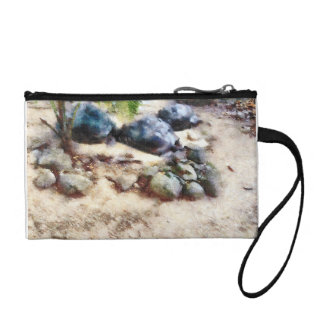 Tortoise snoozing coin wallet