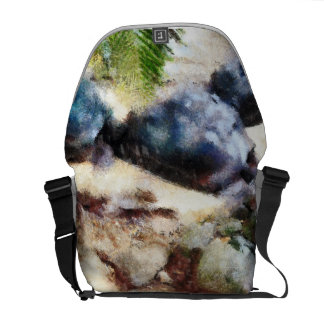 Tortoise snoozing courier bag