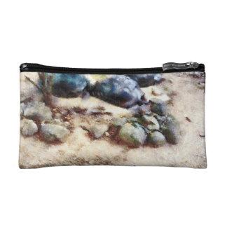 Tortoise snoozing makeup bag