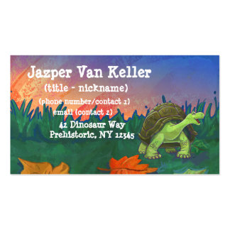Tortoise Stationery Business Card