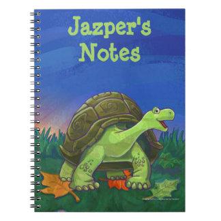 Tortoise Stationery Spiral Notebook