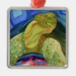 Tortoise, turtle christmas tree ornament