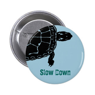 Tortoise Turtle Slow Down Button