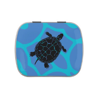 Tortoise Turtle Tin Candy Tins