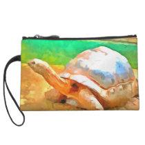 Tortoise Wristlet Wallet