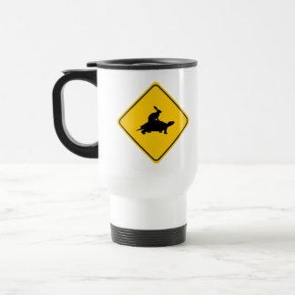 Tortoiseback Hare Crossing Coffee Mug