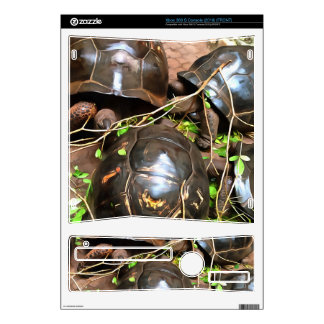 Tortoises at rest decal for xbox 360 s