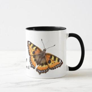 Tortoiseshell Butterfly Mug