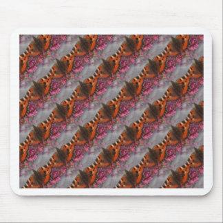 Tortoiseshell Butterfly Pattern Mouse Pad