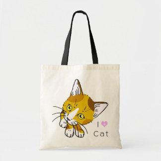 Tortoiseshell cat (三毛猫) budget tote bag