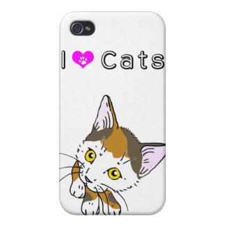 Tortoiseshell cat (三毛猫) cases for iPhone 4