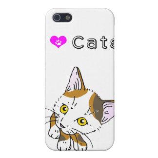 Tortoiseshell cat (三毛猫) case for iPhone 5/5S
