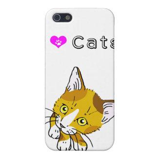 Tortoiseshell cat (三毛猫) iPhone 5/5S case