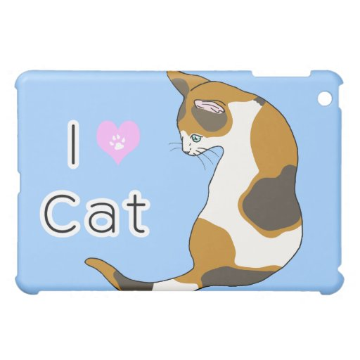 tortoiseshell cat cover for the iPad mini