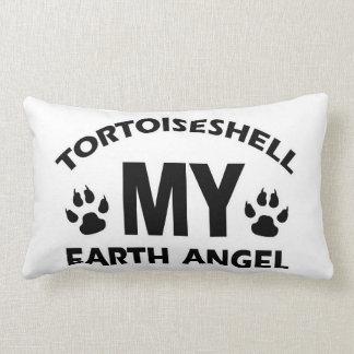 Tortoiseshell  cat design throw pillows