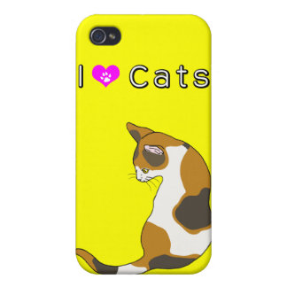 tortoiseshell cat iPhone 4 covers