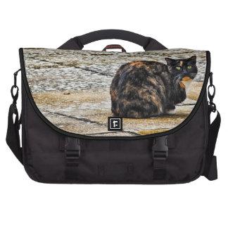 Tortoiseshell Cat Laptop Bag