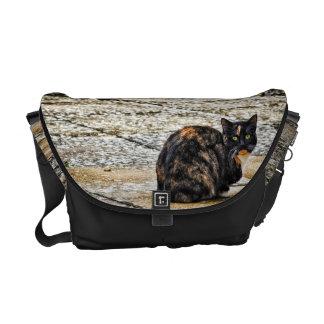Tortoiseshell Cat Courier Bags