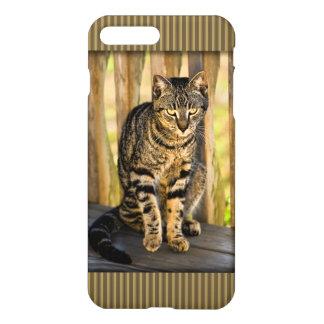 Tortoiseshell Cat Portrait, Closeup Animal Photo iPhone 7 Plus Case
