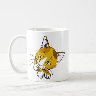 Tortoiseshell cat (tortoiseshell cat) coffee mug