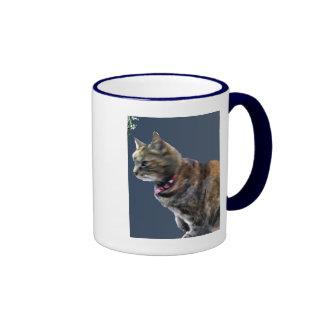 Tortoiseshell Ringer Coffee Mug