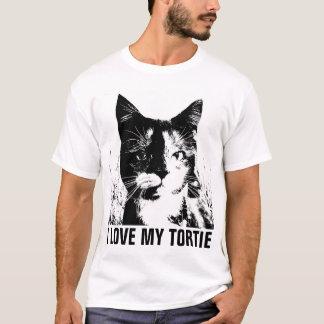 TORTOISESHELL TORTIE CAT t-shirts, LOVE T-Shirt