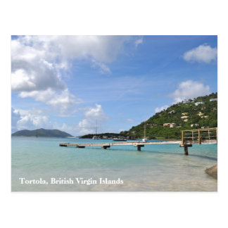 Tortola Small Dock Poscard Postcard