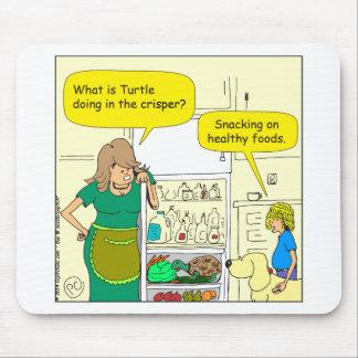 tortuga 541 en un dibujo animado más quebradizo tapetes de ratones