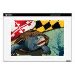 Tortuga acuática del ciudadano, la tortuga de Mary Skins Para Portátil