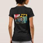 Tortuga acuática del ciudadano, la tortuga de camisetas