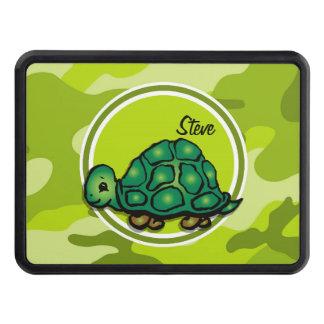 Tortuga; camo verde claro, camuflaje tapas de tráiler